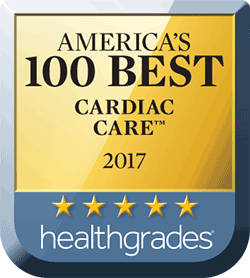 2017 Healthgrades America's Best Cardiac Care